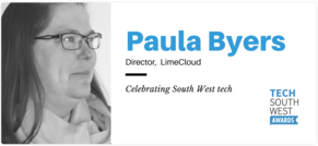 Founder Paula Byers judge for Tech South West Awards 2019